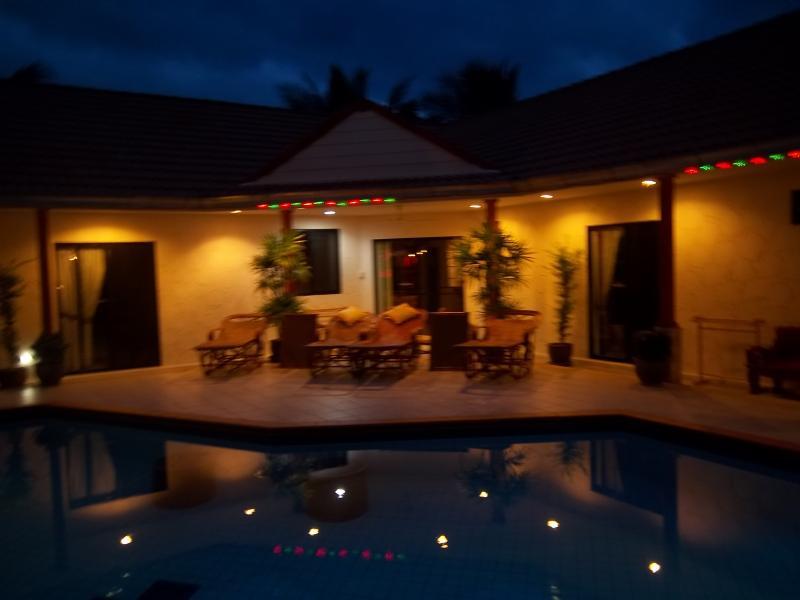 Main Villa at Night