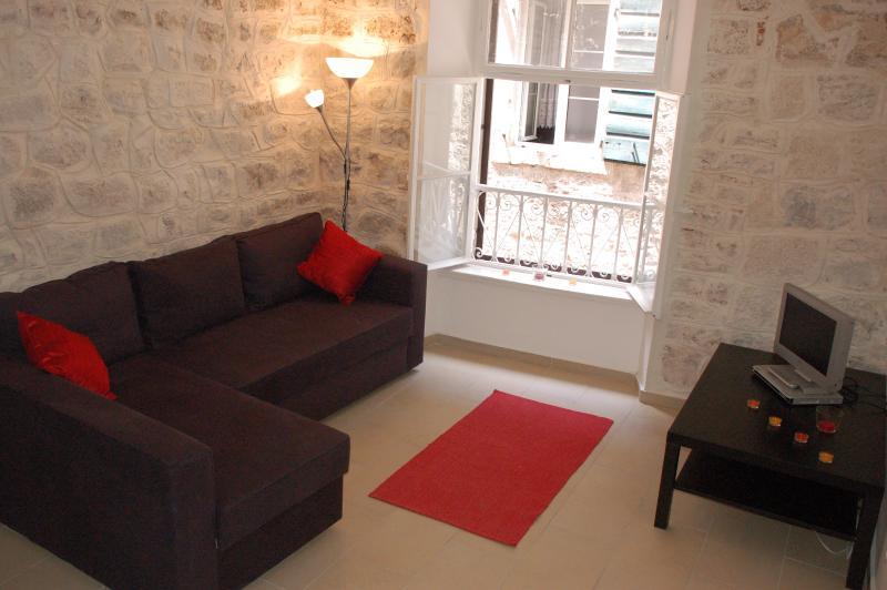 Lounge.  Sofa bed sleeps 2 people