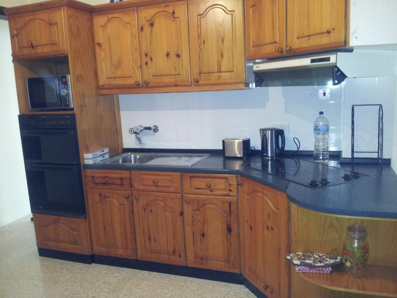 Fully-equipped kitchen for self-catering