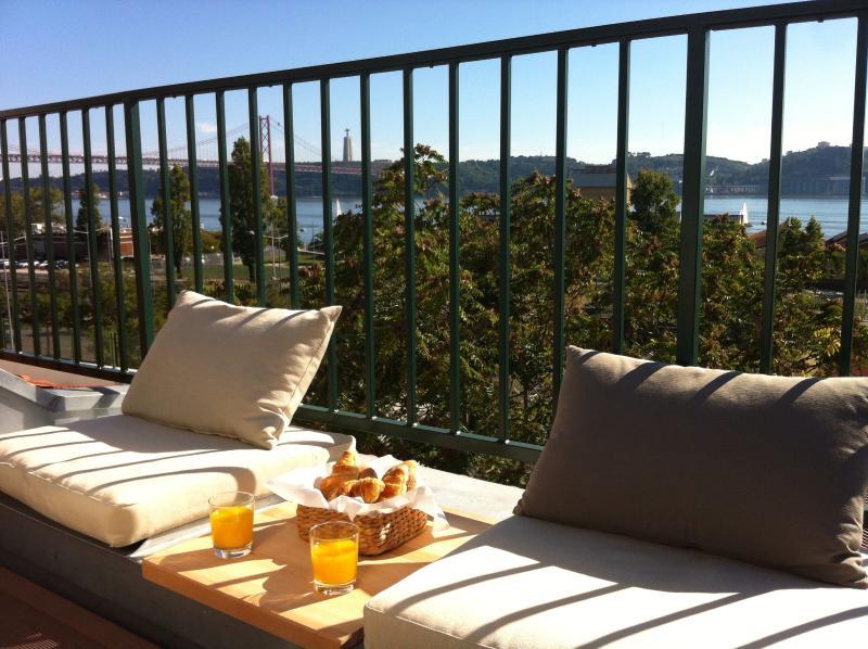 Balcony - enjoying a meal