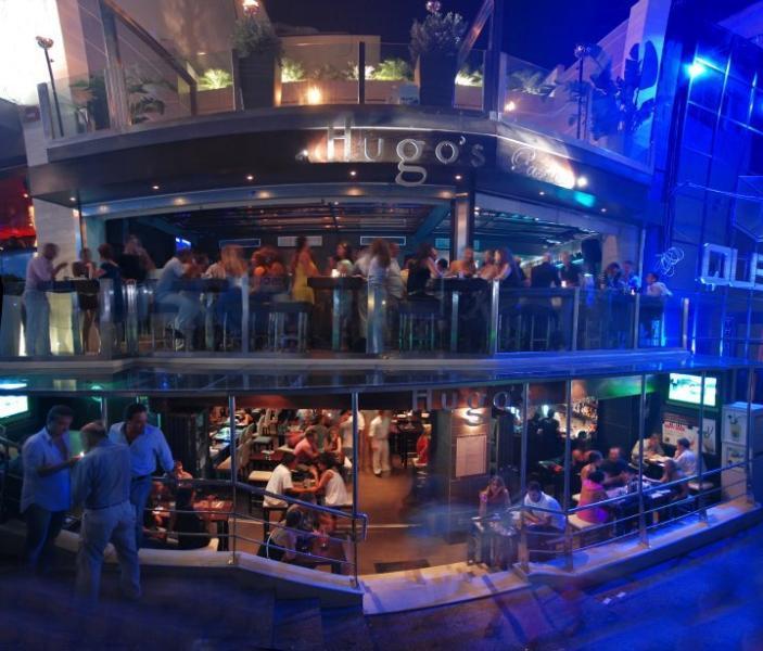 Hugos Lounge .. 5 minuten afstand