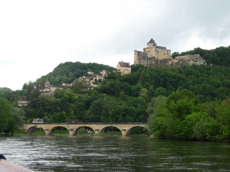 Conoe or take a boat trip on the Dordogne in a traditional gabare boat