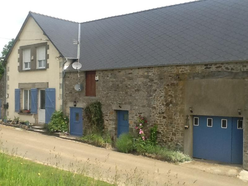Our house with gite next door