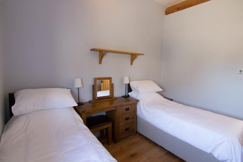 The second bedroom has a king sized bed which can be separated to a twin. It has plenty of storage
