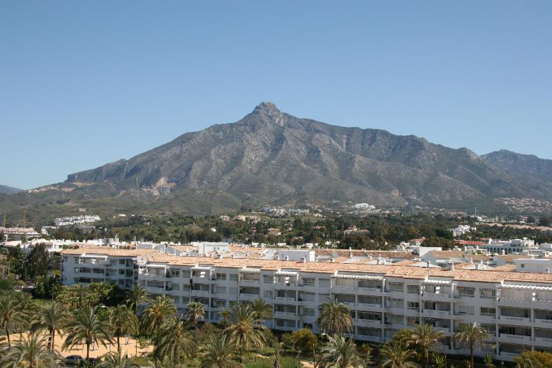 Marbella's La Concha Mountain View from Apt. Terrace