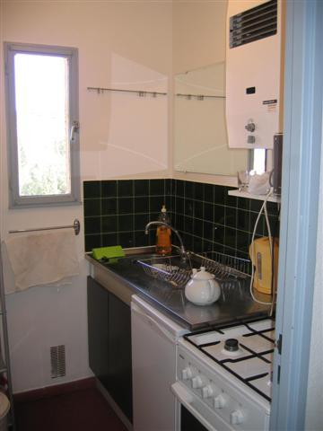 Separate well equipped kitchen