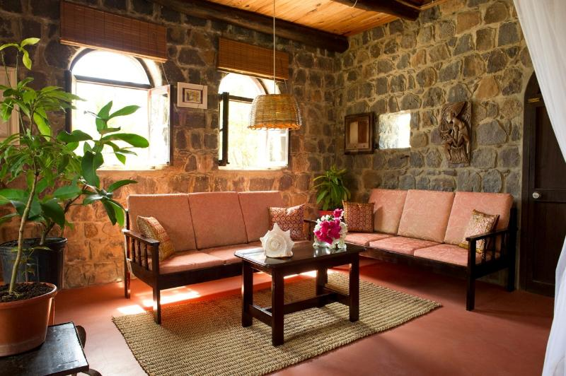 The Sitting Area in the Honey Room