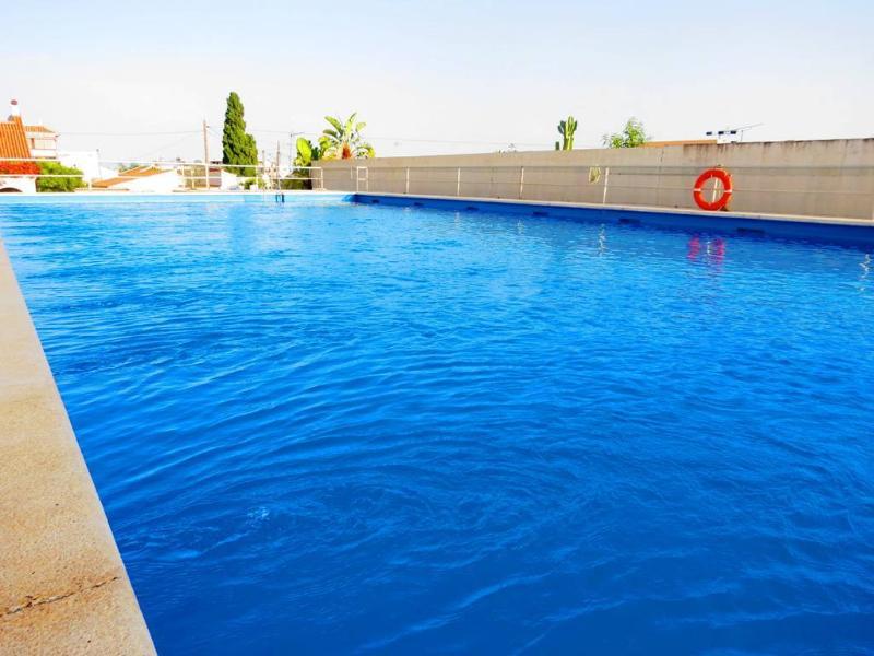 Communal Pool on Summer