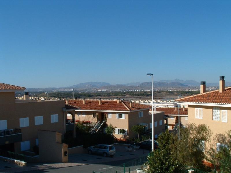 Vista from terrace...