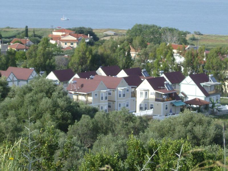 Ermolaos villas are situated between sea & mountain.