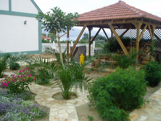 the garden at the village