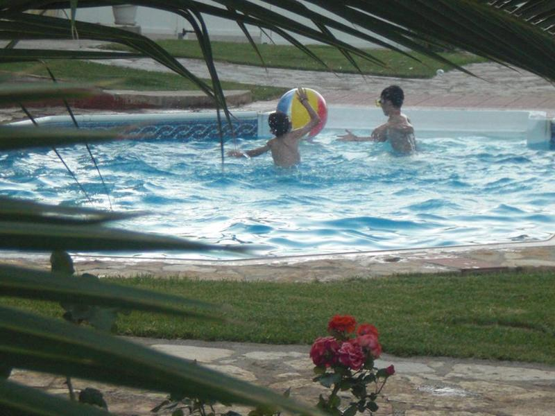 It's play time at the pool!