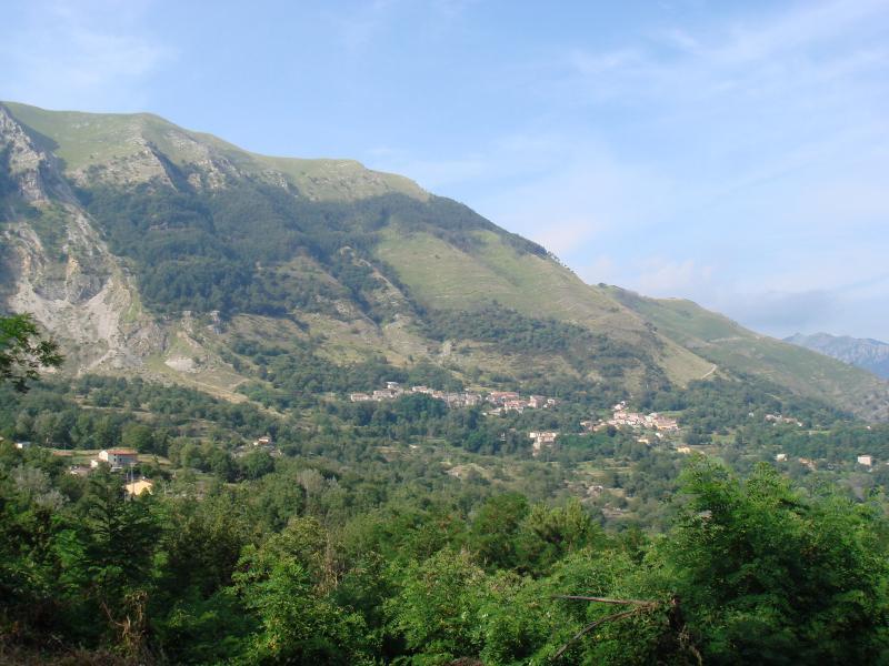 San Cassiano below Pratofiorito Mountain (1298m)