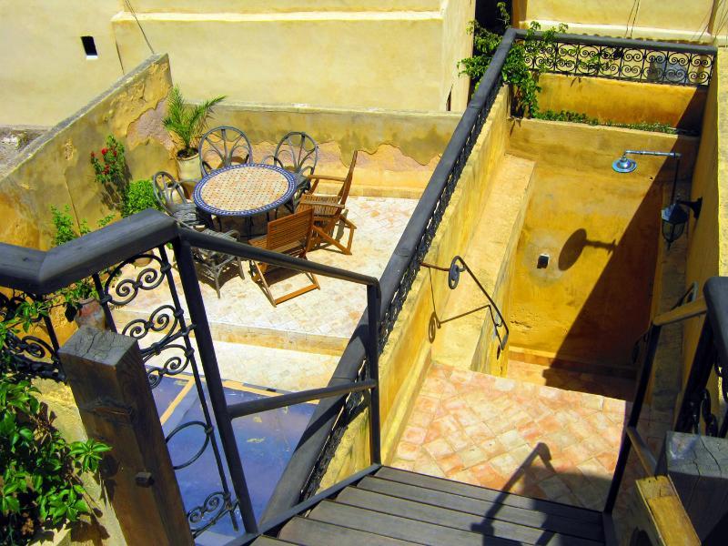 Top Terrace looking down