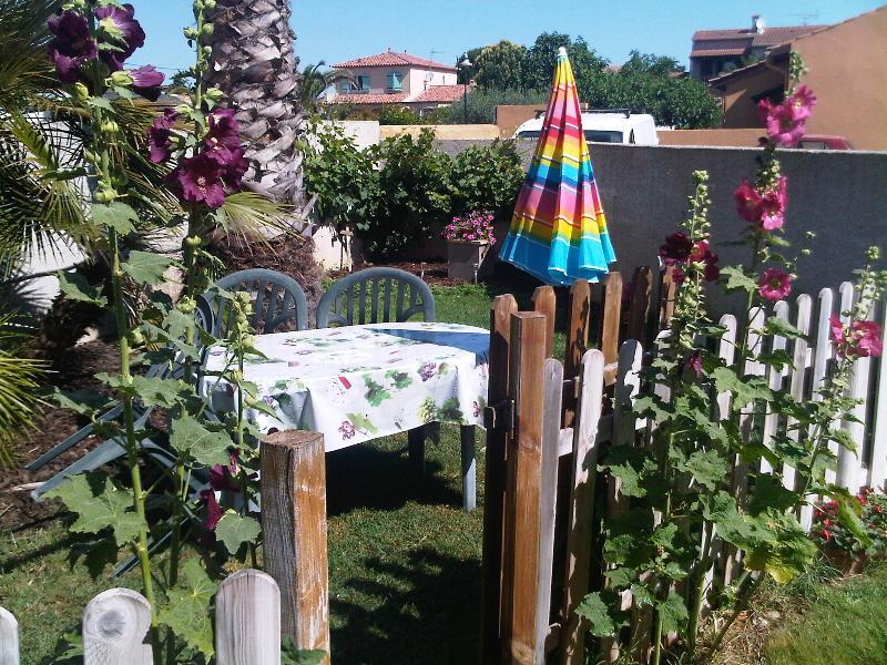 Private garden Chez Lavande