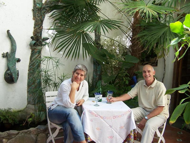 Richard & Esperanza in Patio