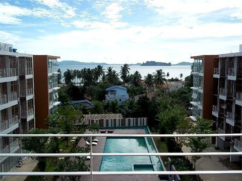 2-bedroom condo with sea-view, casa vacanza a Ko Yao Yai