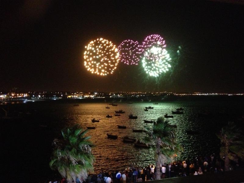 Feux d'artifice sur les fêtes locales à... merveilleux !