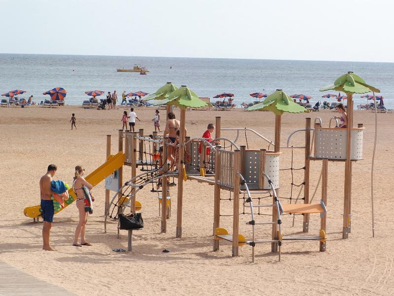 New play area on local beach