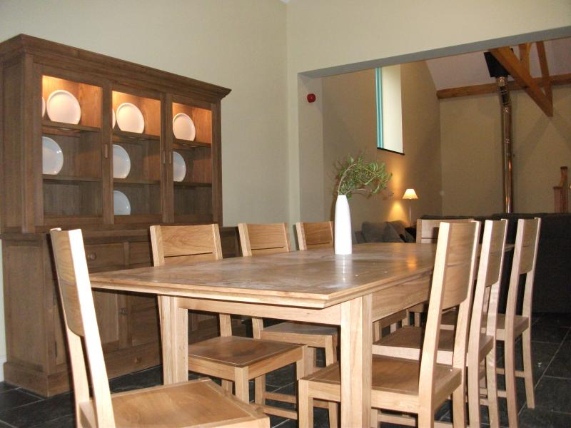 The dining area with Welsh Dresser