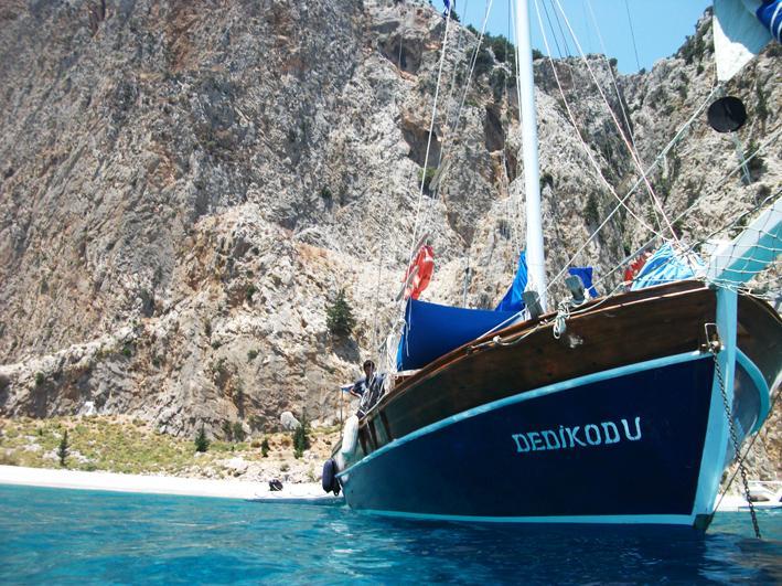 Wooden Gulet sailing boat