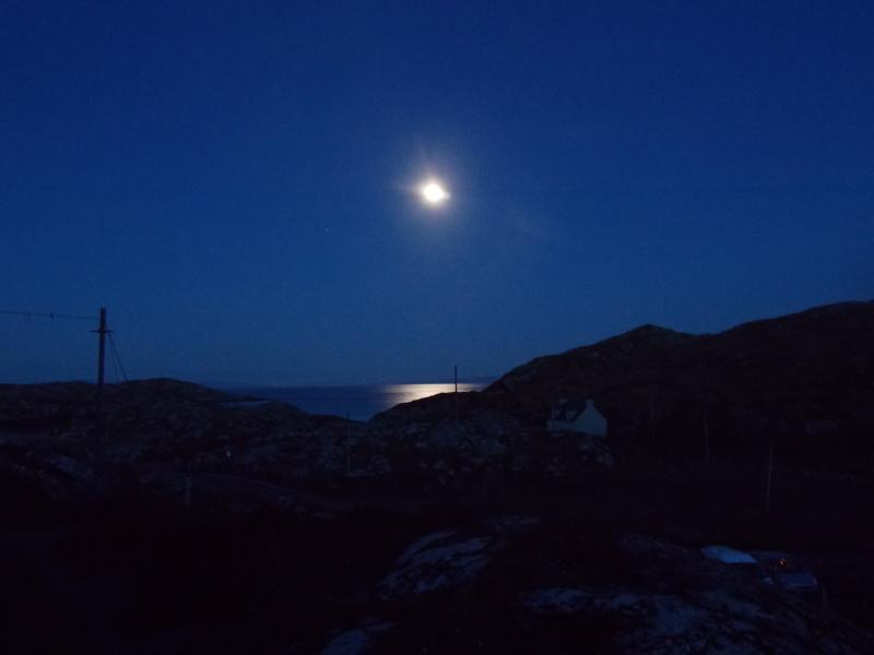 Autumnal Sykes are wonderful in Harris no light pollution
