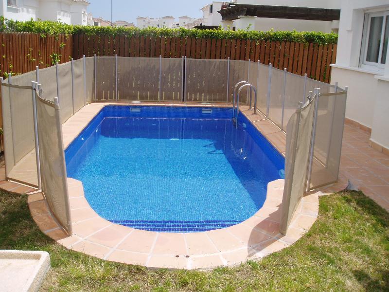 Un'altra vista della piscina