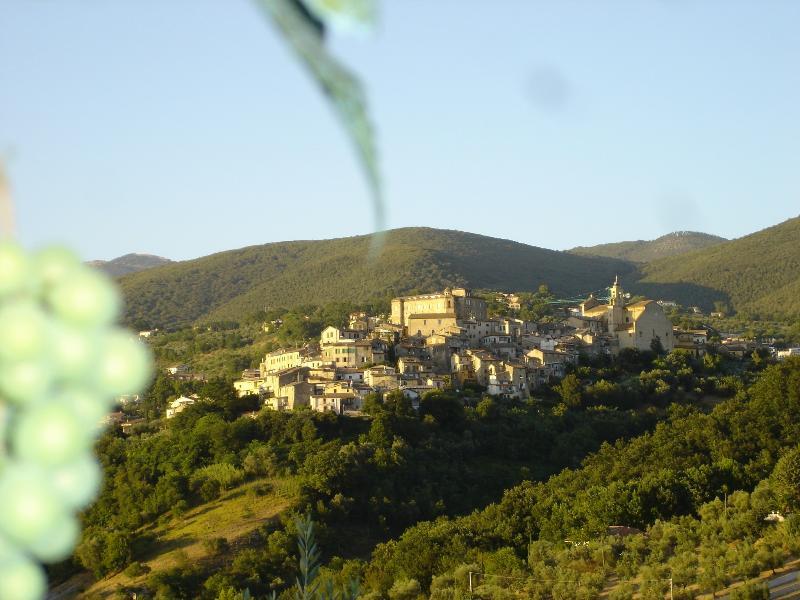 Poggio Mirteto, sulle colline della Sabina