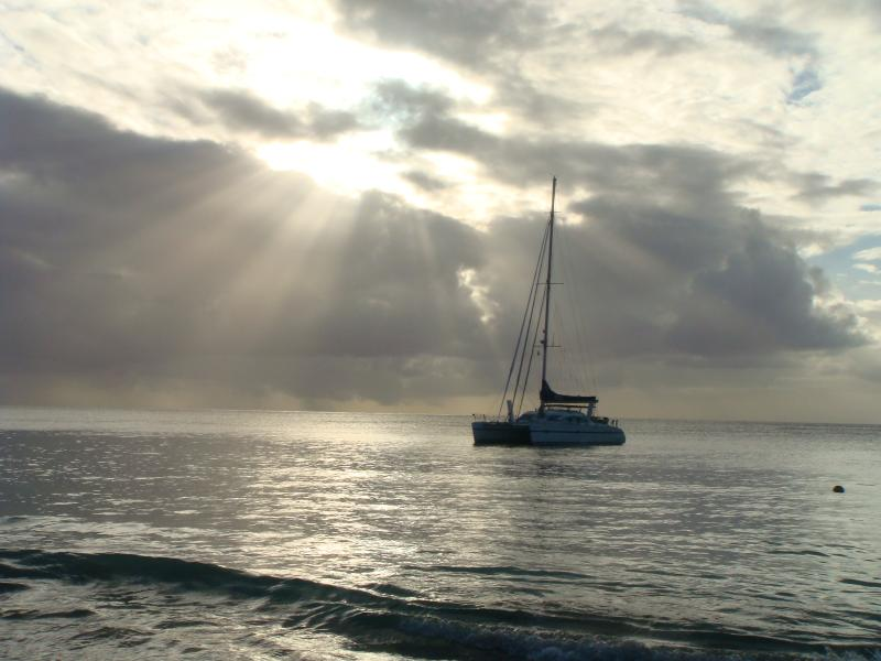 Evening catamaran cruise, a must 'do' on your trip
