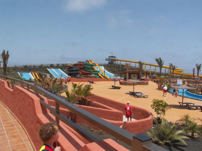Water park (45 mins drive - buses and excursions available)