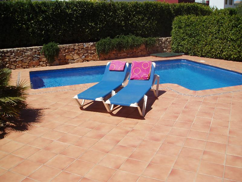Your very own secure and private pool. Here you or the kids can have hours of fun.