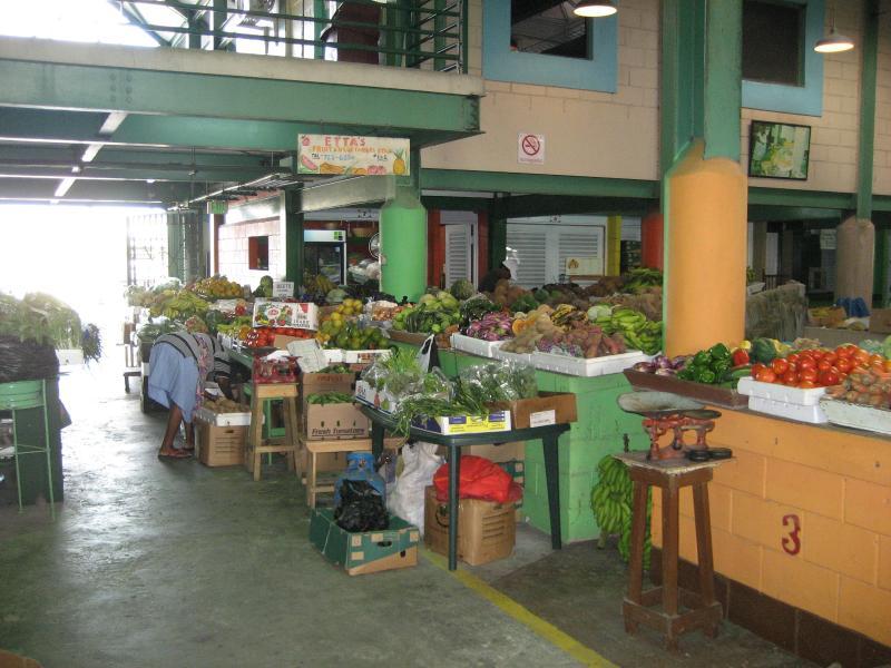 St John's fruit and vegetable market