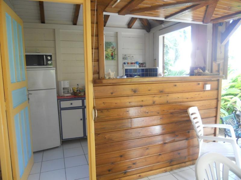 Tamarindo bungalow, cucina sulla terrazza