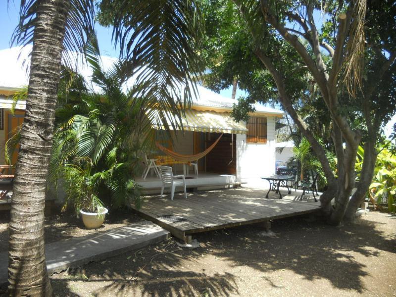 la terrazza di bungalow di Tamarindo