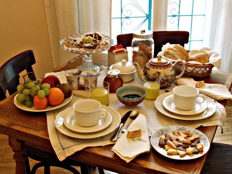 La ricca colazione!