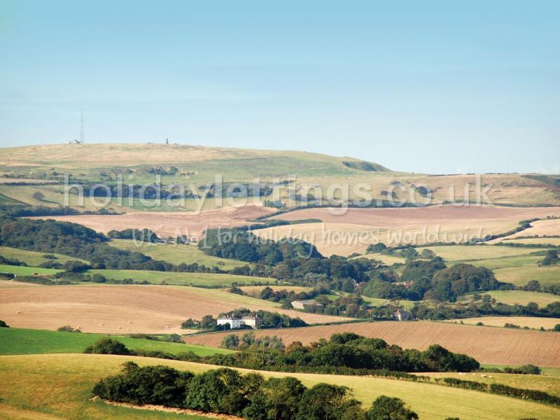 View over the Whitwell Valley