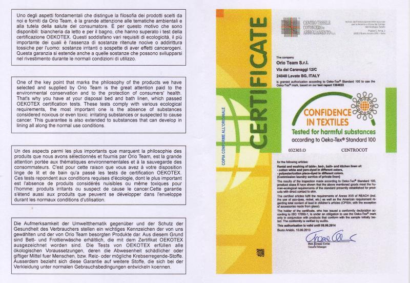 certifiering linne