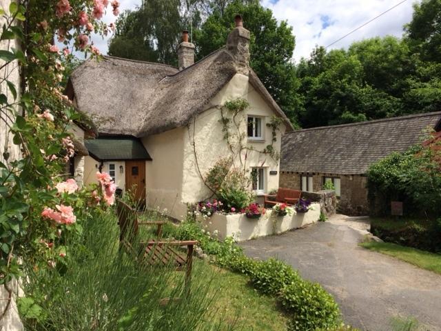 View of Three Pound Cottage, Lustleigh