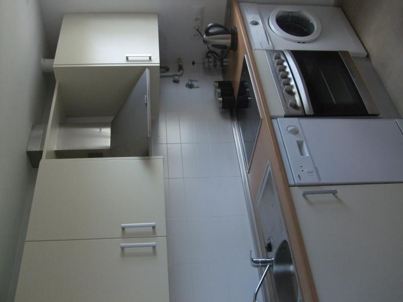 well equipped kitchen & extra storage