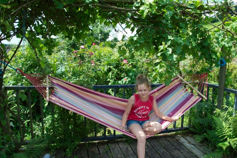 One of our favourite spots - the Hammock!