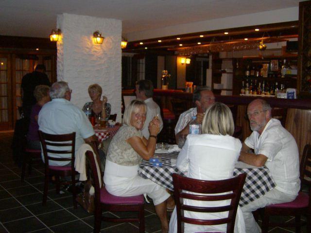 Enjoy a delicious meal at Viansa's Restaurant, Ermolaos Club