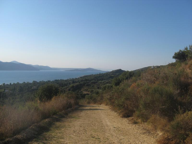 Enjoy a breathtaking view while you go hiking in Livadi.