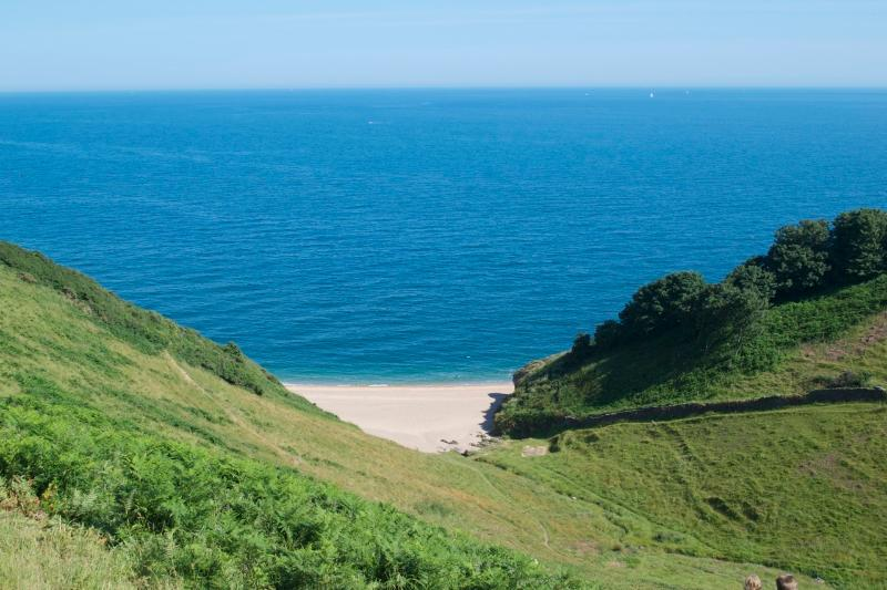 One of our favourite local beaches - 20 min drive (bit of a steep walk!)