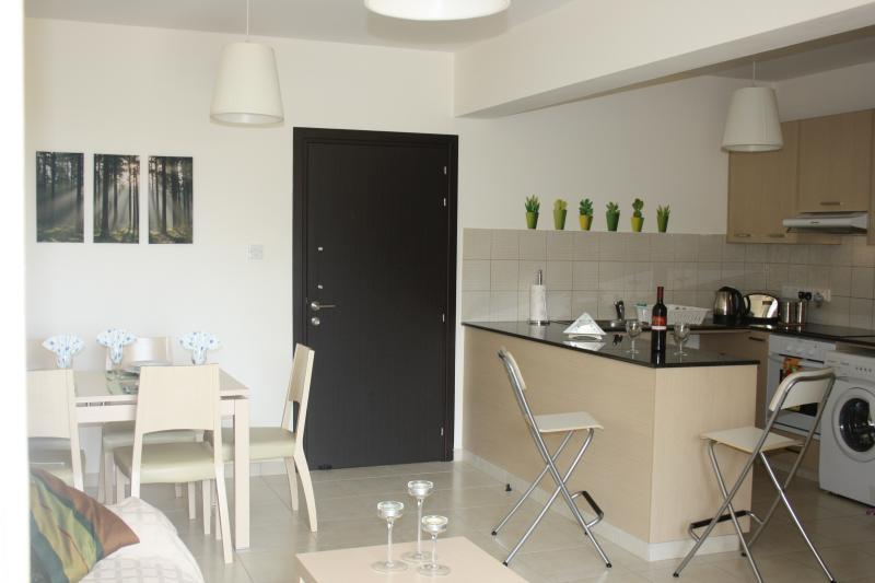 View of lounge & Kitchen area