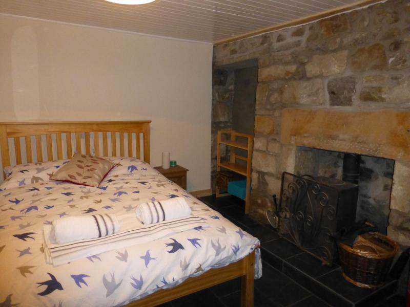 Double bedroom and small woodburner