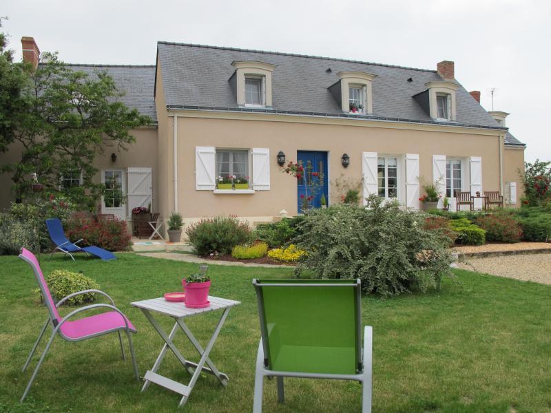 La Maison d'hôtes -la façade -