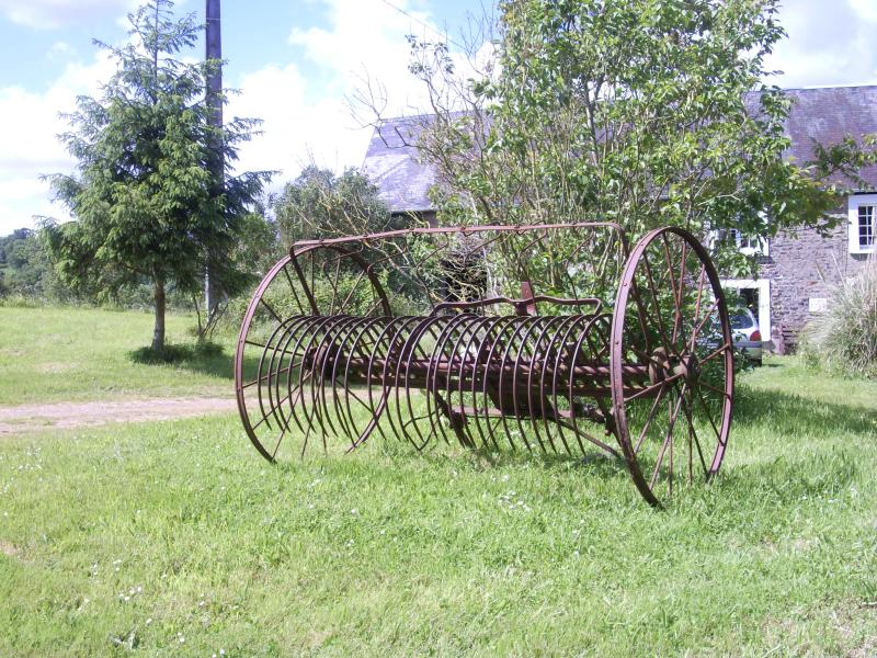 The Plough outside the house