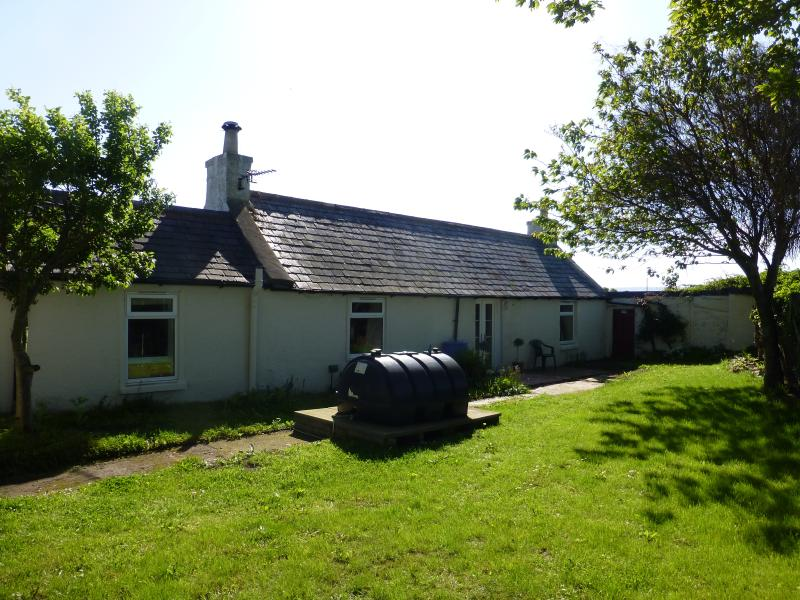 Rear of cottage