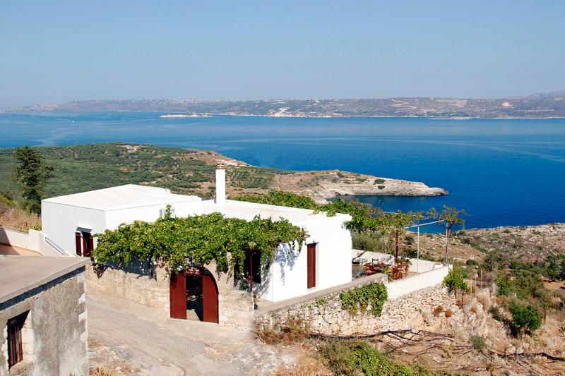 Cretan traditional Villa and the breathtaking sea view!