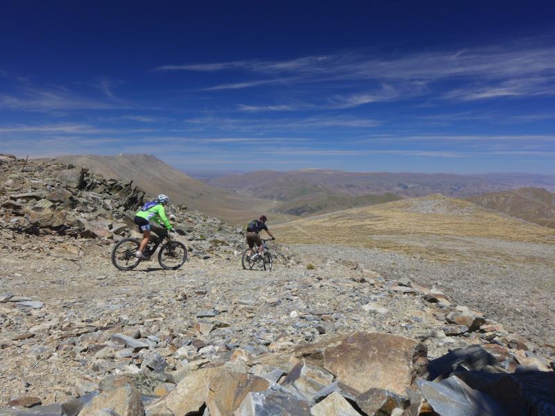 Extreme mountain biking.